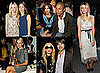 Front Row Celebrity Pictures at 2011 Spring New York Fashion Week with Dakota Fanning, Alexa Chung