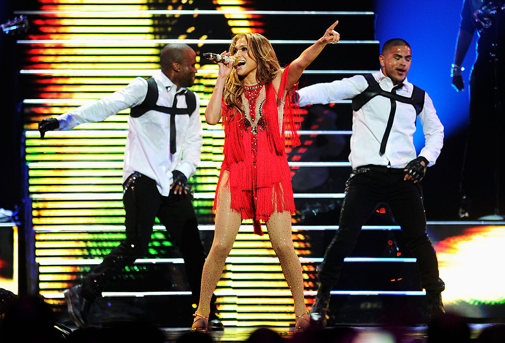 J Lo gave a sexy performance in Las Vegas.