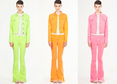 A First Look at the Christopher Kane x J Brand Collaboration for Resort 2012