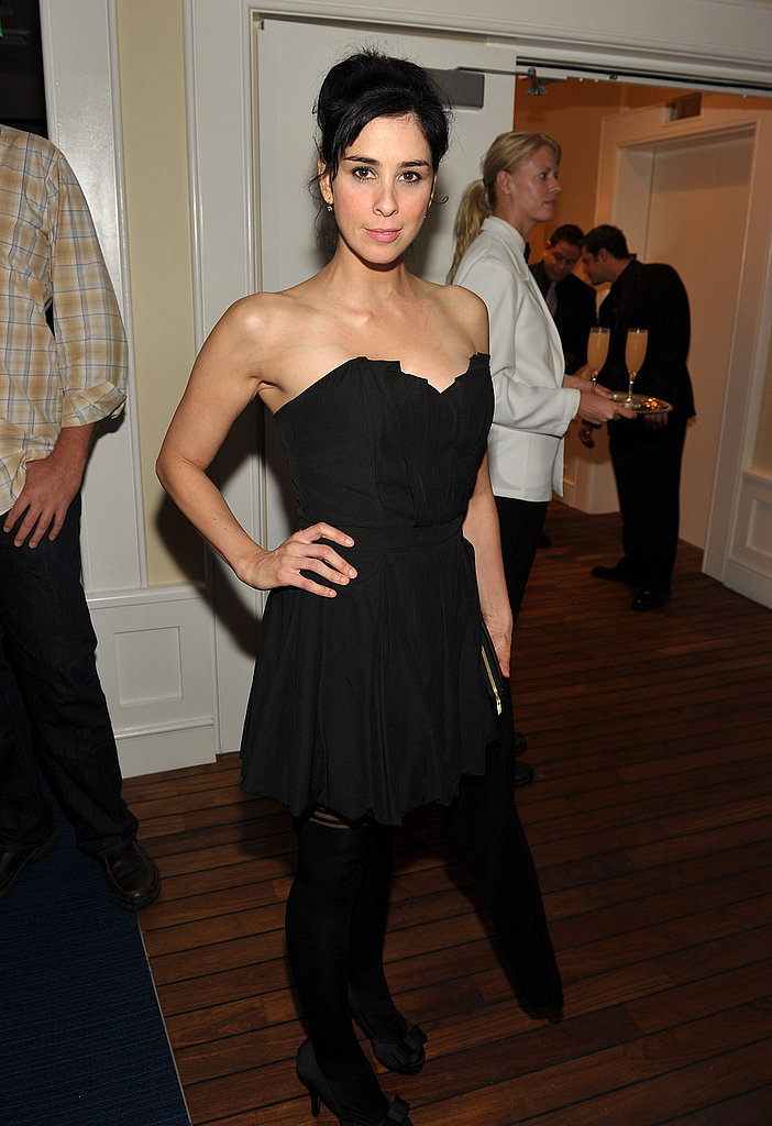 Sarah Silverman at the AMC post-Emmys party.