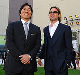 Brad Pitt Plays It Cool and Talks Maddox's Baseball Love at Moneyball Oakland Premiere