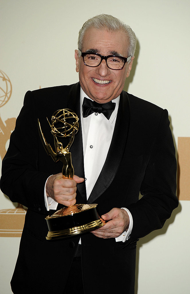 Martin Scorsese in the Emmys press room.