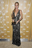 Best actress winner Julie Bowen at the 2011 Fox Emmys bash.