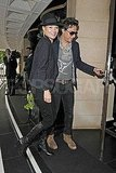 Kate Moss spends a day with husband Jamie Hince.