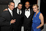 Common, Jeremy Gold, Anson Mount, and Dominique McElligott at the AMC after-Emmys party.