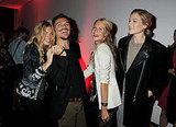 Sienna Miller Kicks Off London Fashion Week With Kisses, Hugs, and Her Mom