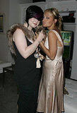 Kelly Osbourne and Nicole Richie cozied up for a photo at a party celebrating Teen People's Young Hollywood issue in August 2004.