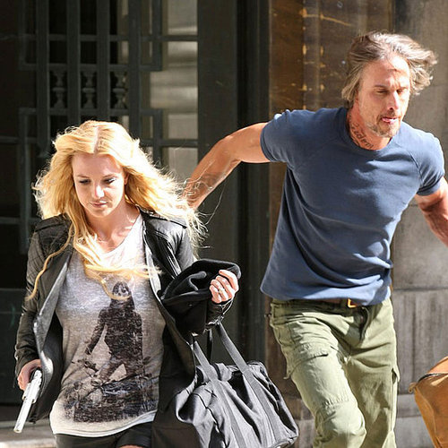 Britney Spears & Jason Trawick Filming Criminal Video Pictures