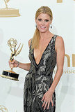Julie Bowen in the Emmys press room.