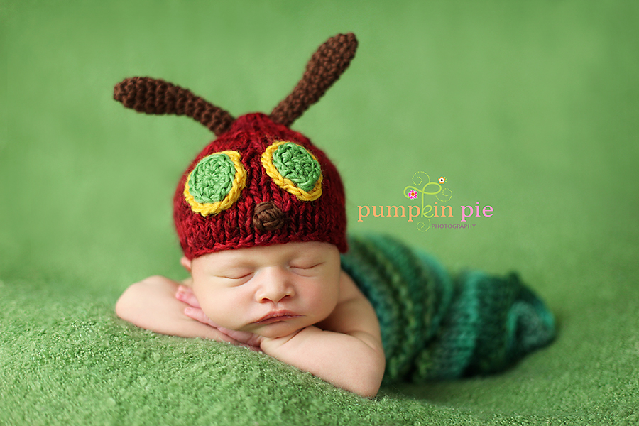 Very Hungry Caterpillar Newborn Costume