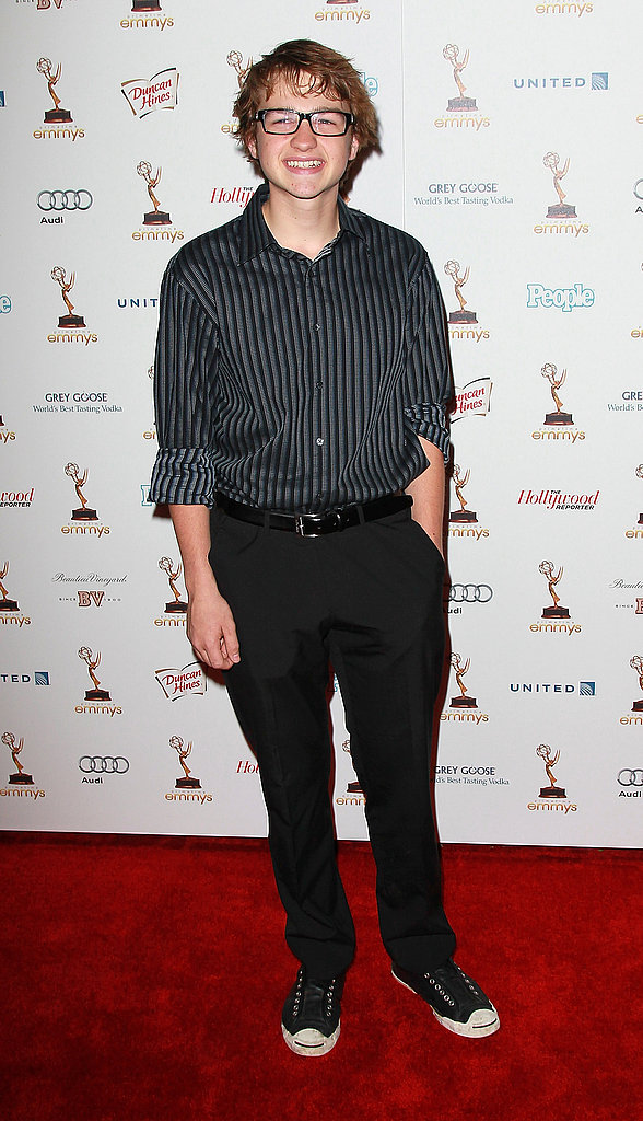 At the Emmy reception for the nominees in September 2011.
