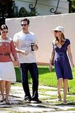 Jon Hamm and Jennifer Westfeldt house hunting in Los Feliz.