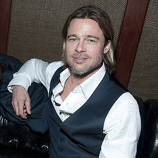Brad Pitt Pictures at the Moneyball Afterparty