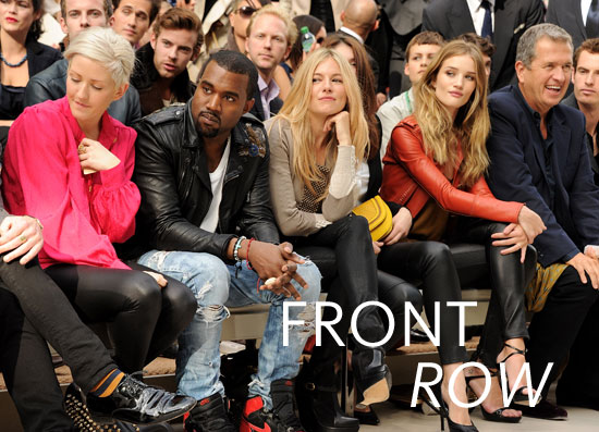 2012 London S/S Fashion Week: The Front Row, Round 2!