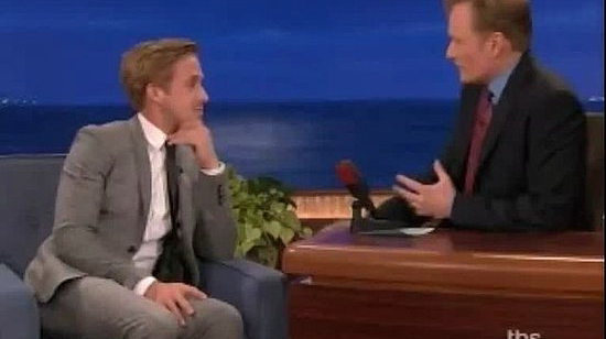 Watch Ryan Gosling Tell Conan the Pop Music-Related Reason He Chose Drive's Director
