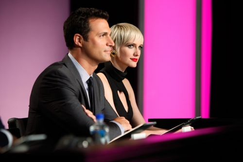 Nigel Barker and Ashlee Simpson both thought Kayla failed to look free in her photo.  Photo courtesy of The CW