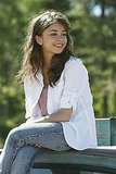 Sarah Hyland as Haley on Modern Family.  Photo copyright 2011 ABC, Inc.