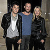 Kate Moss and Jamie Hince Pictures at the James Small Show