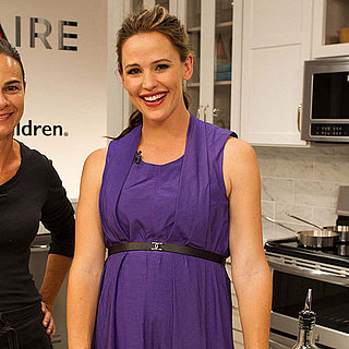Jennifer Garner Pregnant at Frigidaire Event Pictures