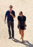 Ryan Gosling and Eva Mendes together.