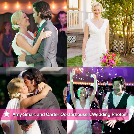 See Amy Smart and Carter Oosterhouse's Wedding Photos!