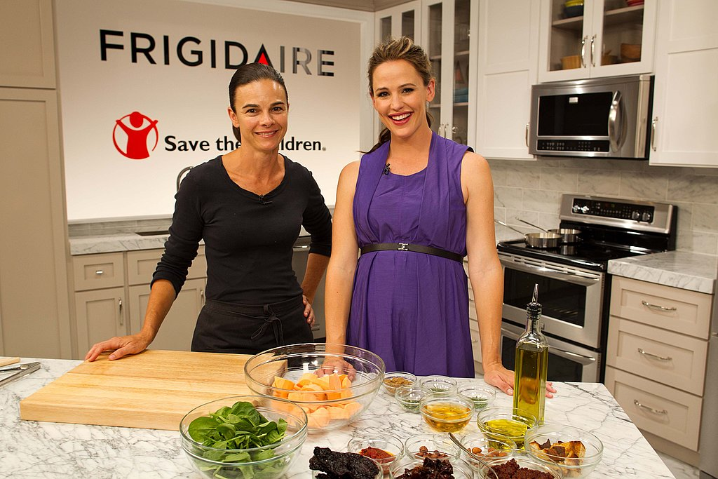 Jennifer Garner at Frigidaire event.