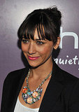 Parks and Recreation's Rashida Jones at the launch of the new HTC Rhyme Android smartphone.