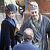 Rachel McAdams and Robert Downey Jr Filming Sherlock Holmes in London Pictures