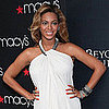 Pregnant Beyonce Knowles at Macy's Fragrance Event Pictures