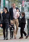 Jennifer Connelly and Paul Bettany Step Out With Baby Agnes in NYC