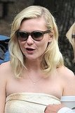 Kirsten Dunst sported shades in NYC.