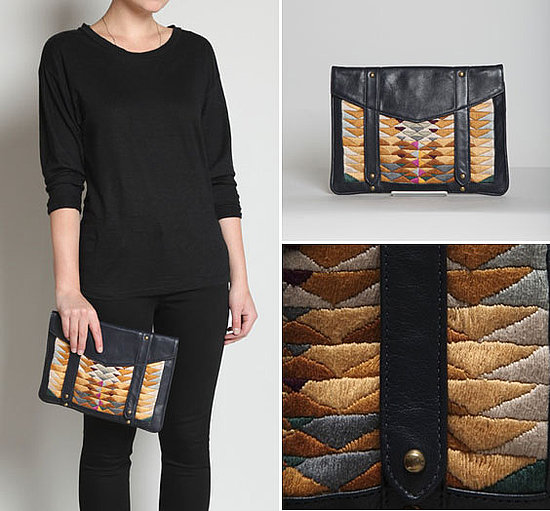 iWant: Lizzie Fortunato Embroidered iPad Clutch