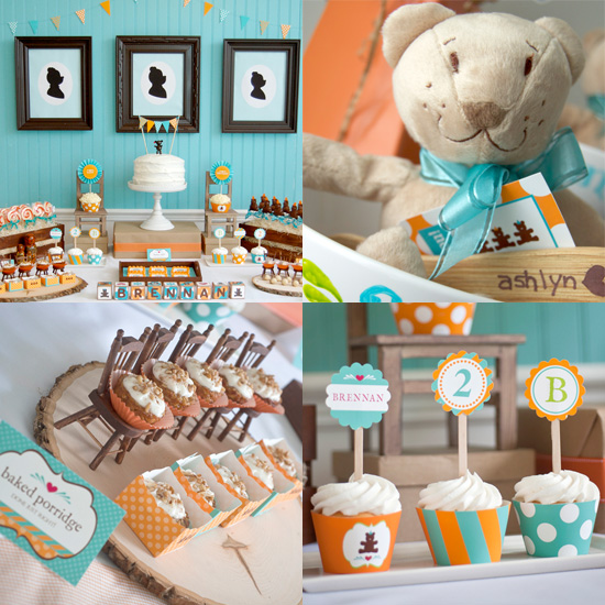 Goldilocks and the Three Bears Birthday Party  POPSUGAR Moms