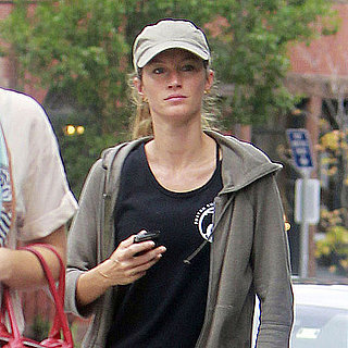 Gisele Bundchen Pictures Leaving Her Boston Gym