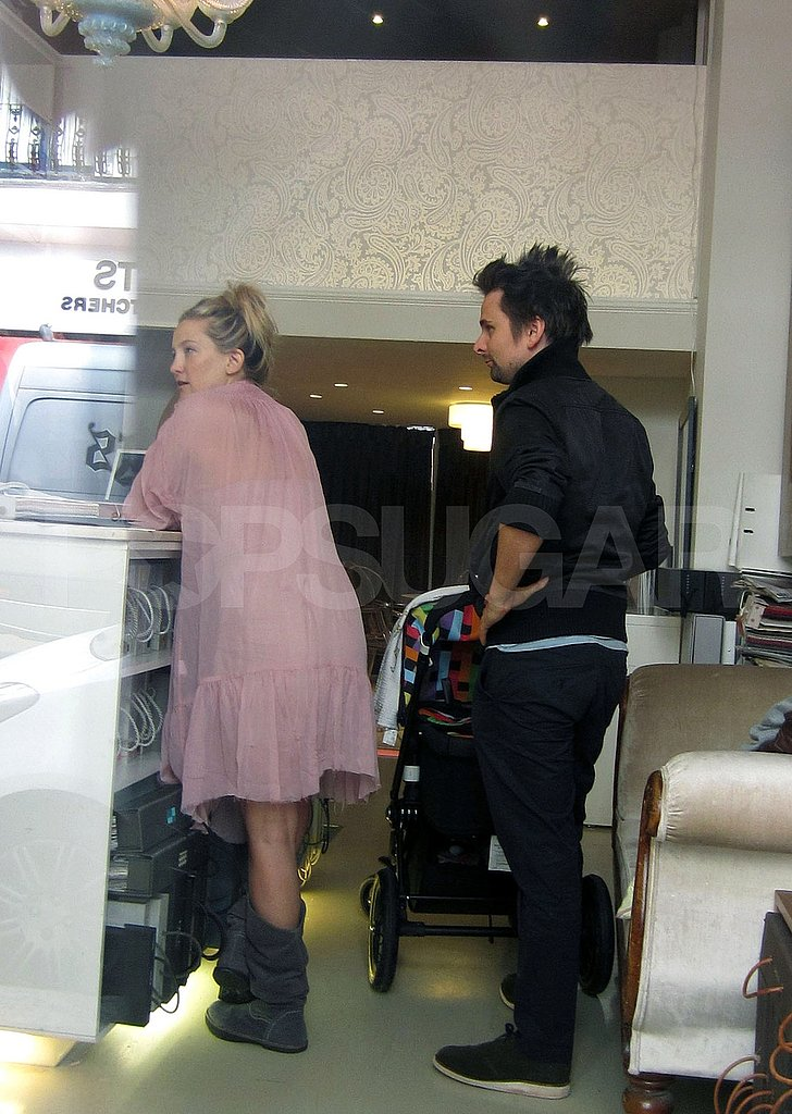 Kate Hudson and Matt Bellamy together.
