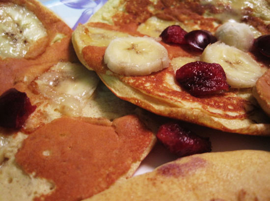 Brown Rice Protein Pancakes