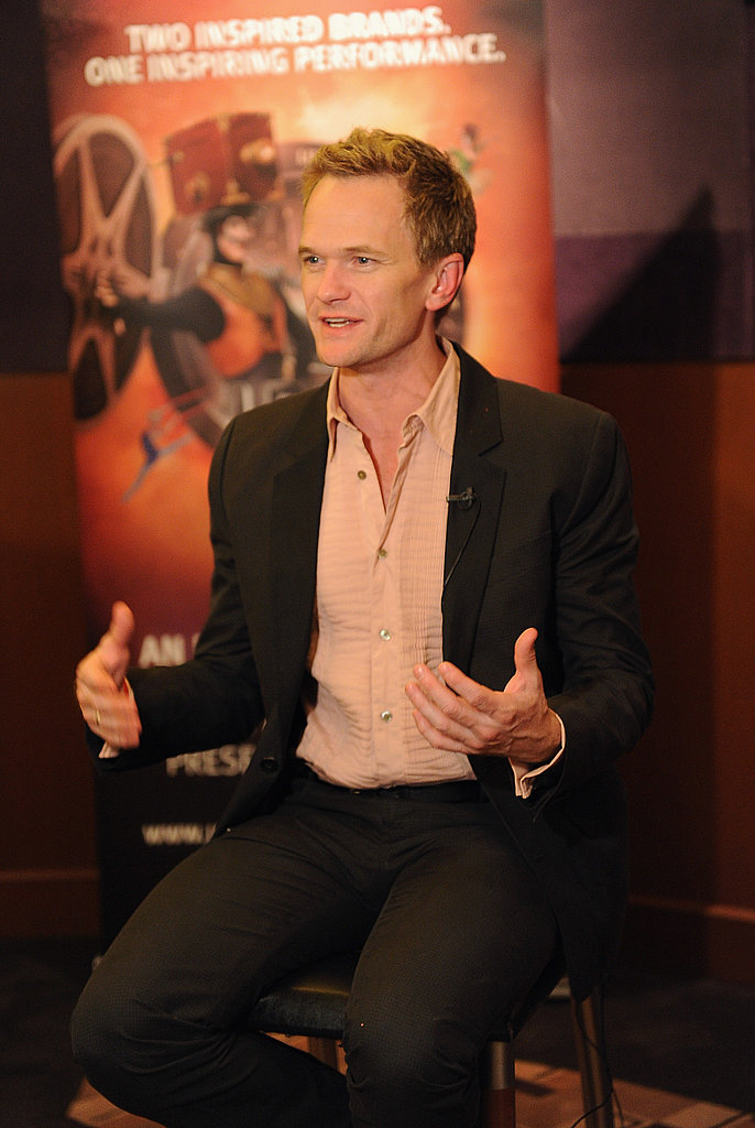 Neil Patrick Harris talked about the Iris premiere.