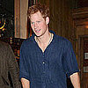 Prince Harry Pictures Leaving Guy Pelly's Public in London
