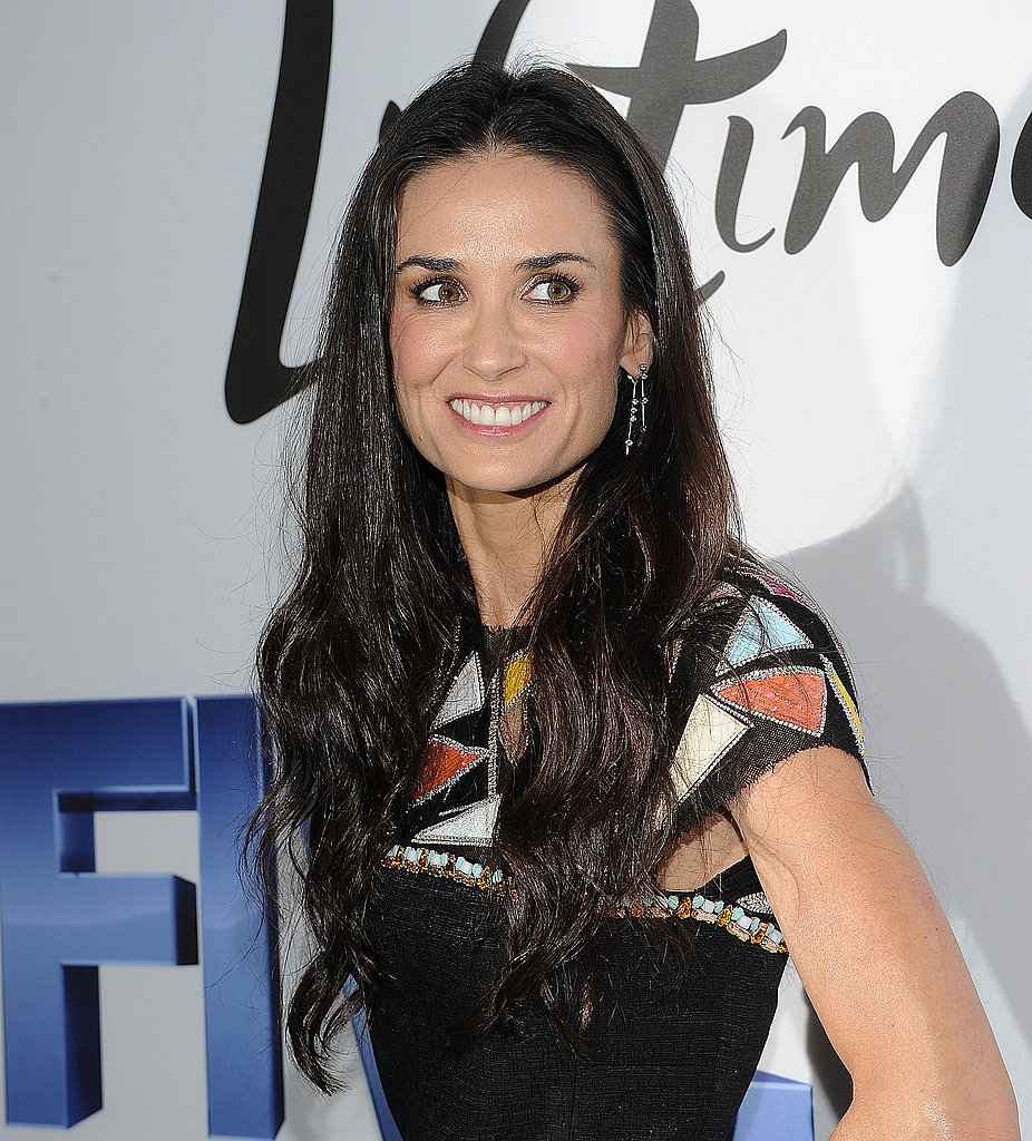 Demi Moore at NYC Five premiere.