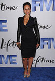 Alicia Keys in black at the NYC Five premiere.