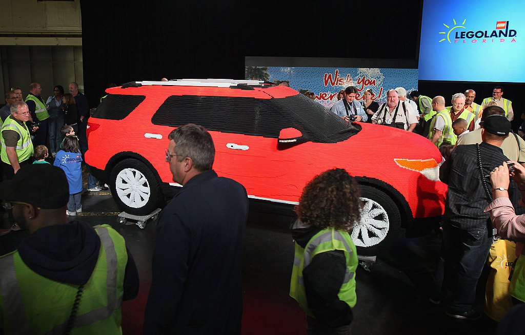 Geek Shot: Legoland Gets a New Car