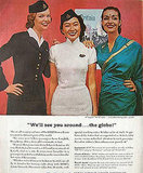 No matter where your stewardess is from . . . we guarantee you she'll be hot.