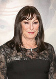 Anjelica Huston at the Ziegfeld Theater in NYC.