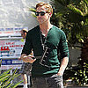 Ryan Gosling Pictures Washing a Car Window