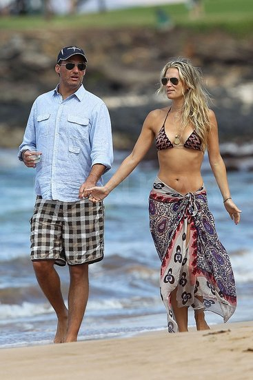 Molly Sims and Scott Stuber honeymooned in Hawaii.