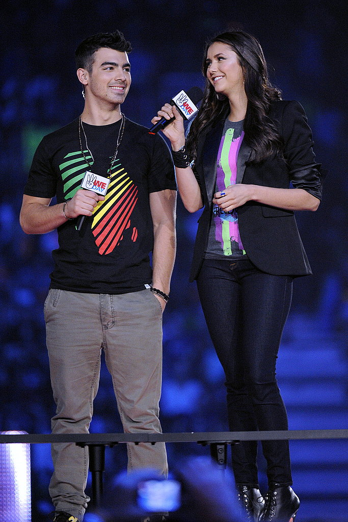 Nina Dobrev and Joe Jonas got involved in the charitable cause.