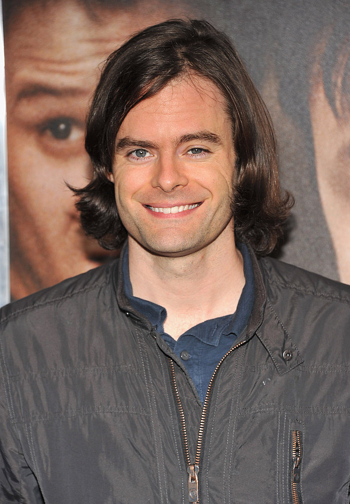 Bill Hader attended the 50/50 premiere in NYC.