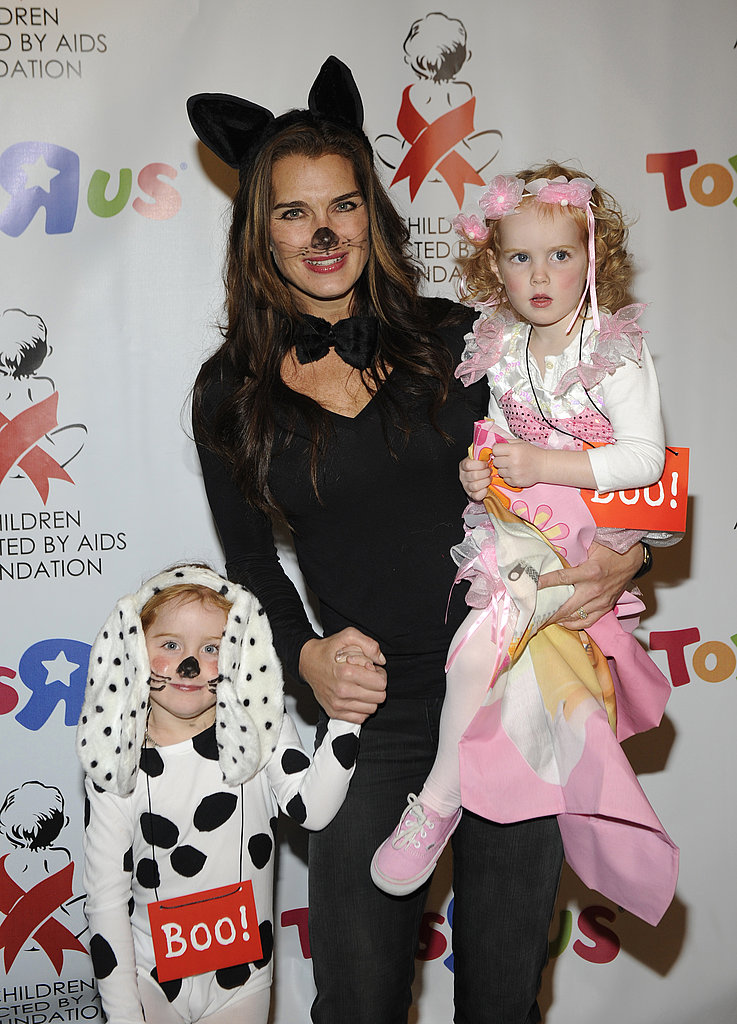 Brooke Shields and Daughters Rowan and Grier Henchy