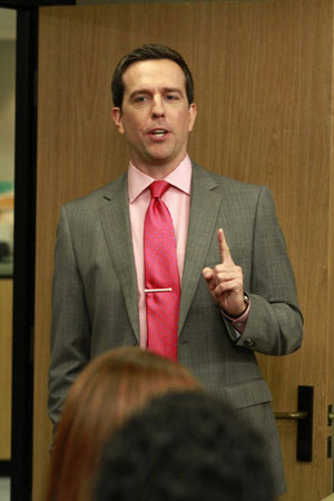 Best Promotion: Andy Bernard