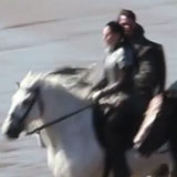 Kristen Stewart Filming Snow White and the Huntsman Video